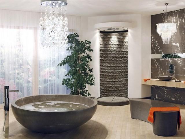 plantas ducha bañera lamparas moderno