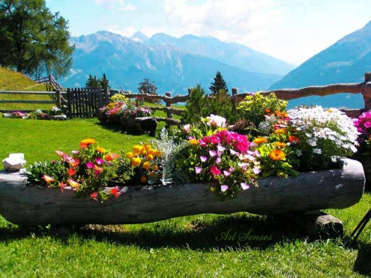 Decoracion de jardines con las flores de primavera - Decoracion para jardines ...