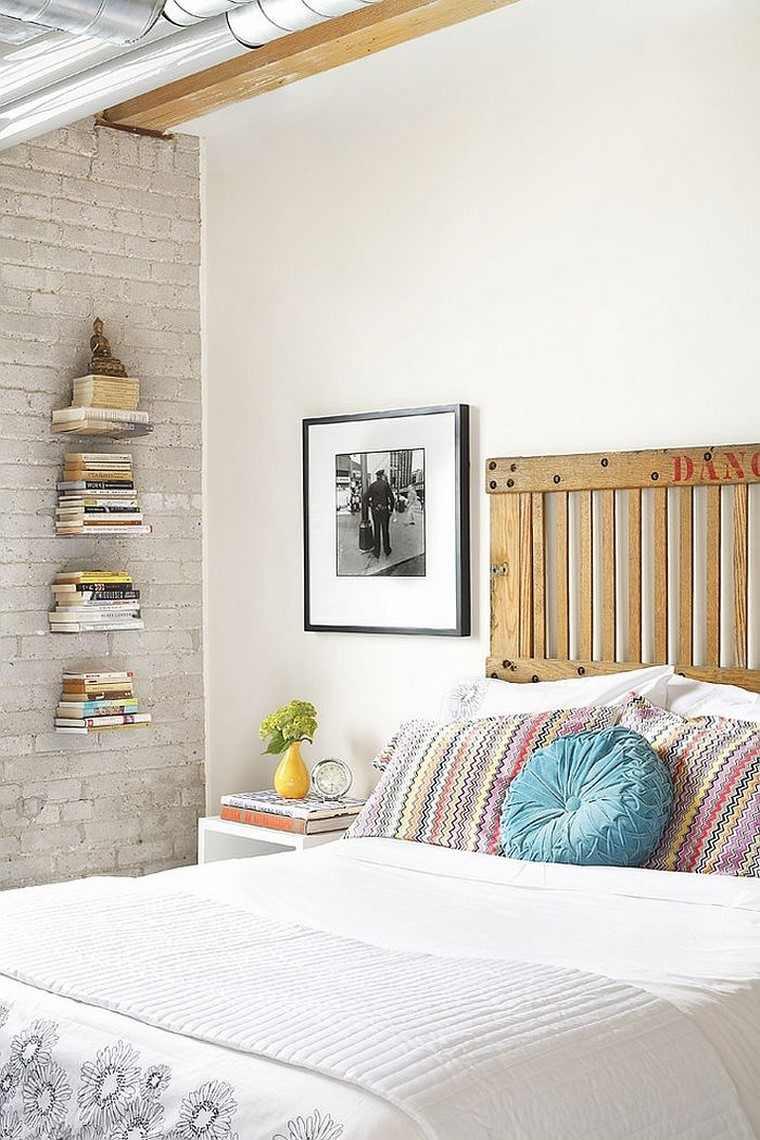 Cabeceros de cama ideas ingeniosas con madera - Ideas cabeceros cama ...