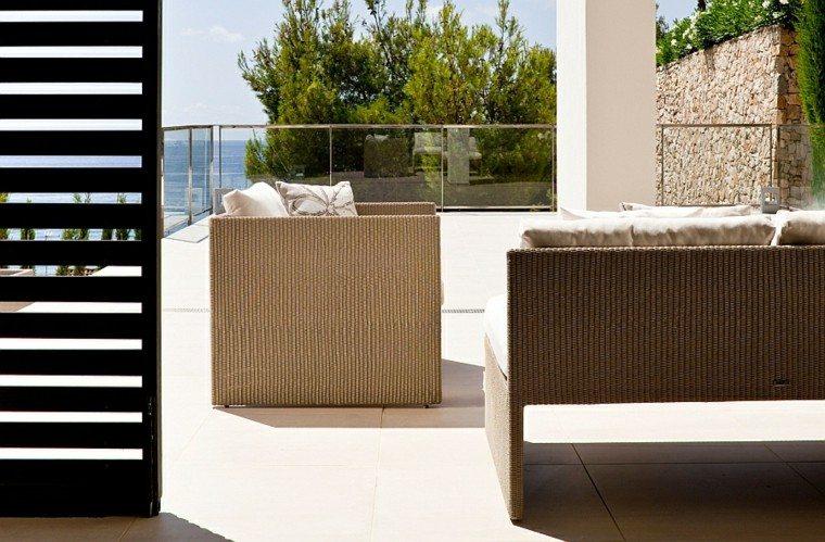 reciclar y mobiliario de jardín balcon madera terraza