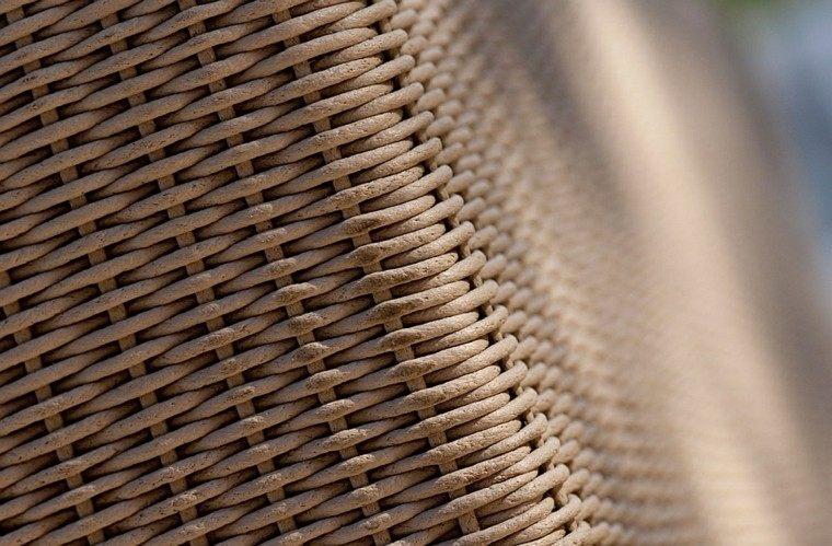 reciclar y mobiliario de jardín tejido moderno canax