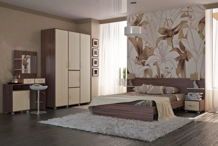 relax cama dormitorio grande amplio estampa bonito