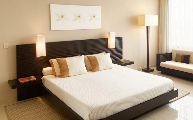 relax dormitorio camas grandes modernas ideas
