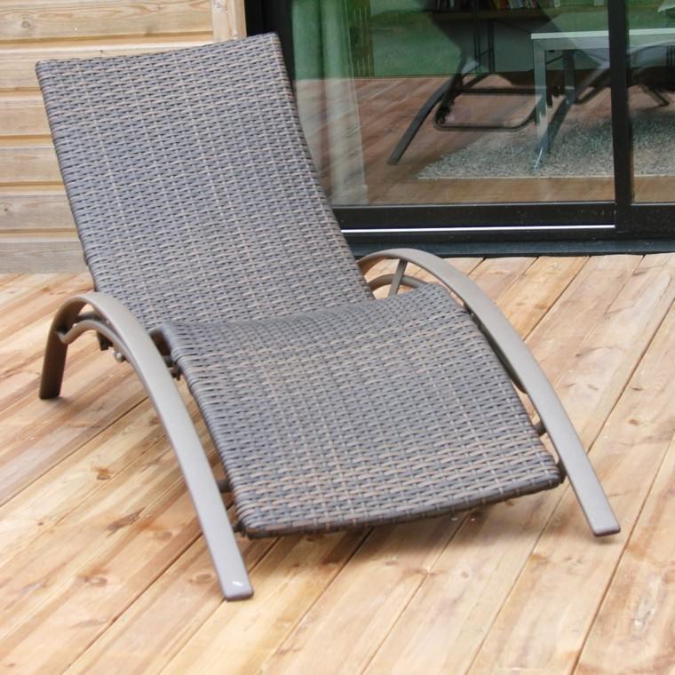 resina aluminio terraza tumbona arqueada