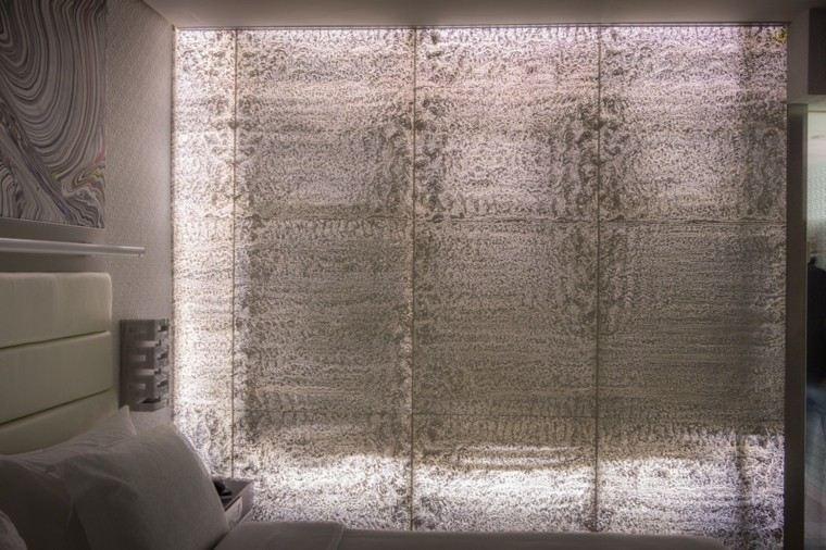 revestimiento de paredes hormigo deja pasar luz ideas