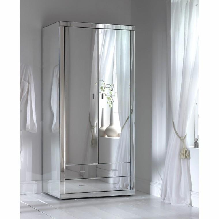 ropero armario todo espejo moderno