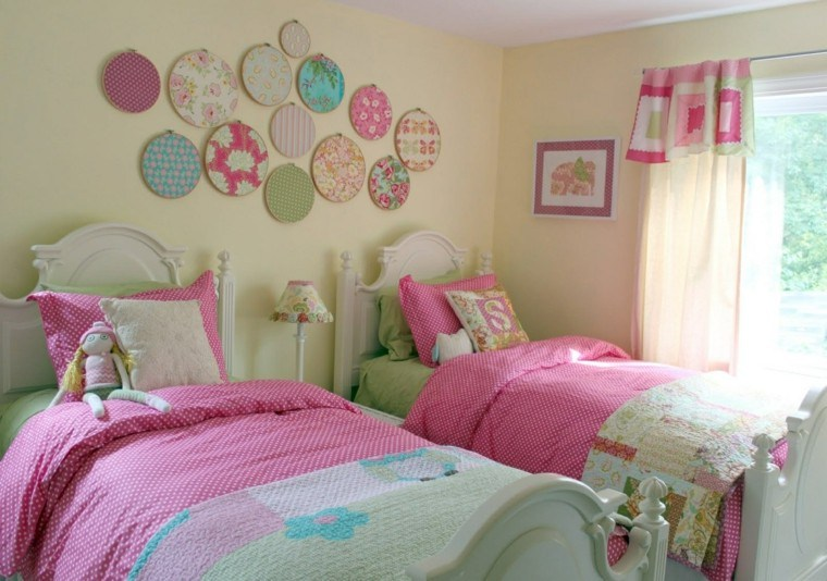7 Inspiring Kid Room Color Options For Your Little Ones: Dormitorios Infantiles Para Niñas