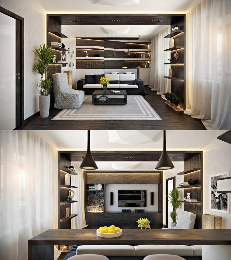 Soggiorno Rustico Idee : Fotos originales diseño de interiores detalles y más