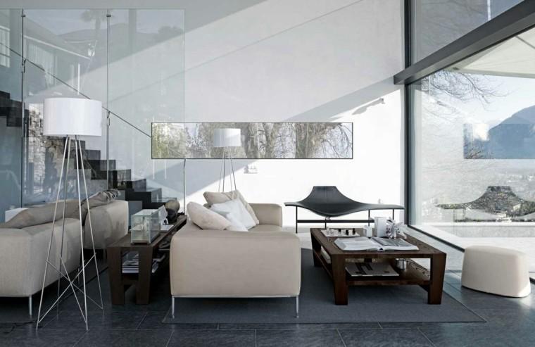 salas de estar muebles modernos