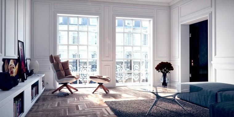 salas estar bien iluminadas estilo