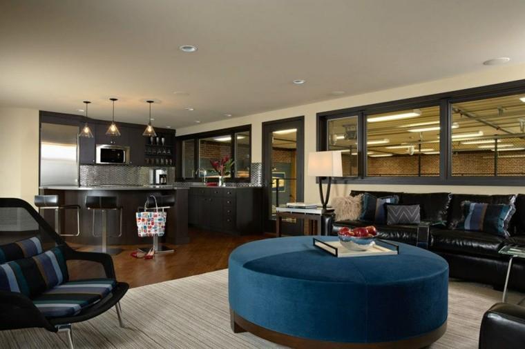 salas estar diseño moderno mesa