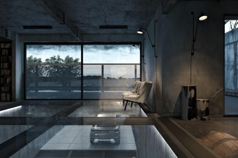 salas salones pisos solteros industrial