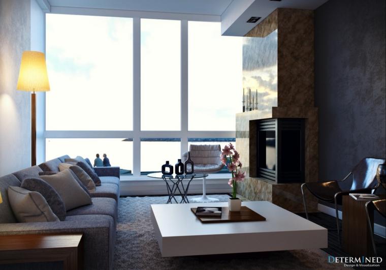 salitas modernas muebles salon diseño