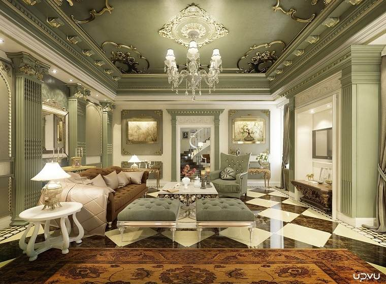 Fotos originales dise o de interiores detalles y m s for Decoracion de interiores estilo clasico
