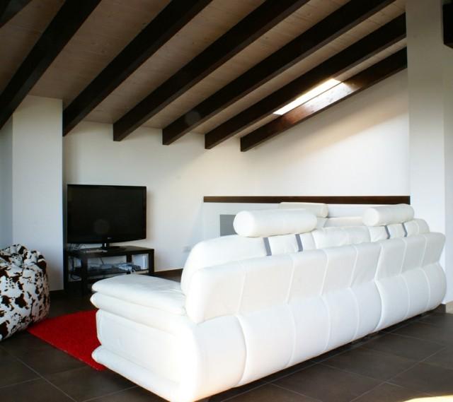 salon lineas rectas ideas simples diseño techo