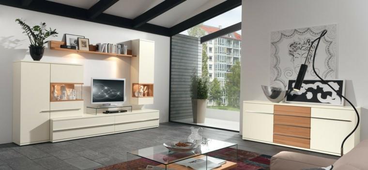 salon moderno apartamento urbano ideas modernas