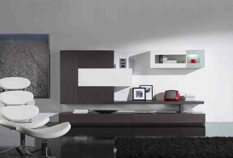 salon moderno sillas diseño minimalista