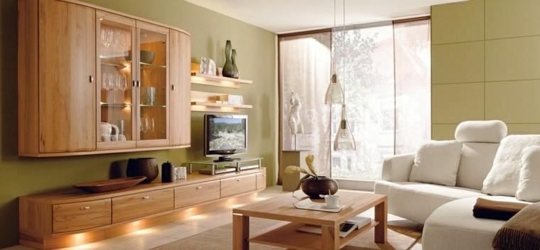 salon moderno sofisticado estilo clasico muebles ideas madera