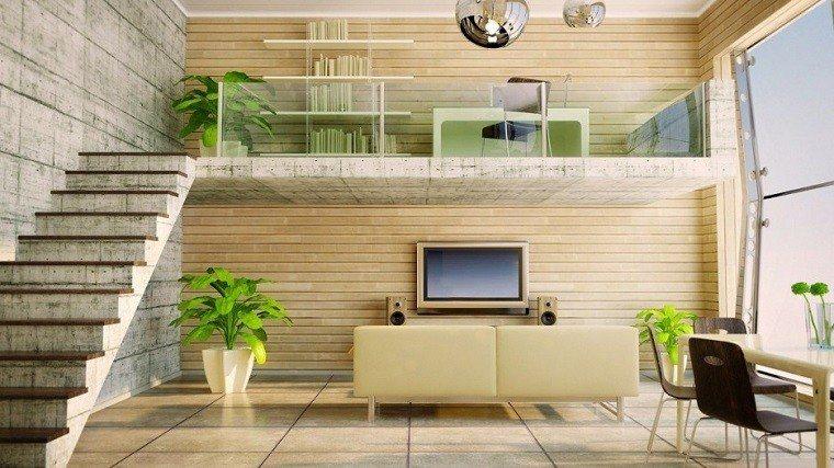salon soleado mueble tv laminado