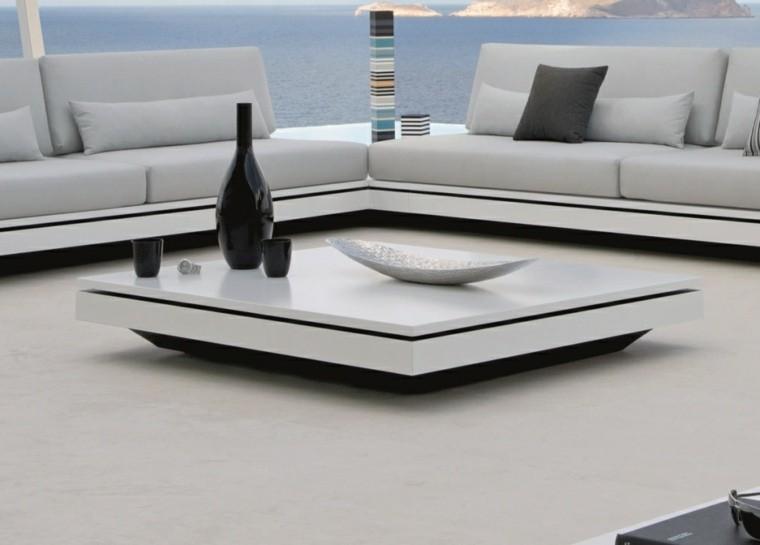 salones accesorios jarron mesa moderna