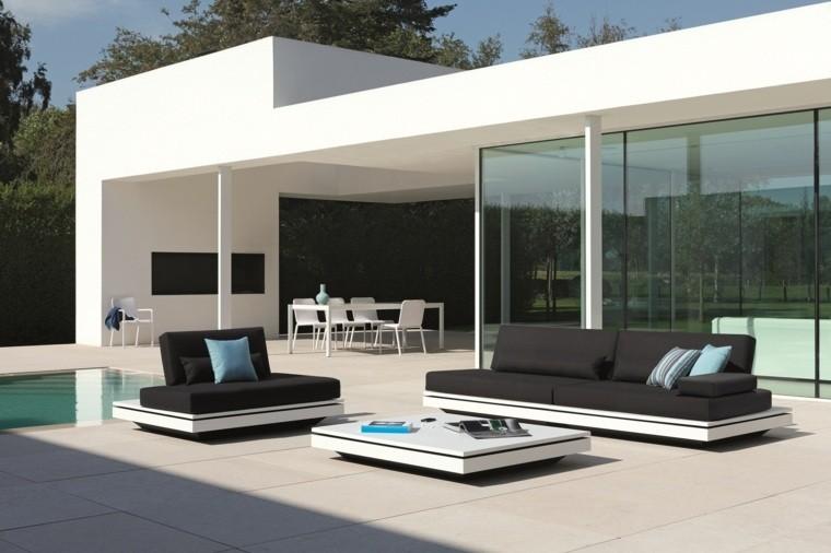 Salones modernos de exterior - el oasis que mereces.