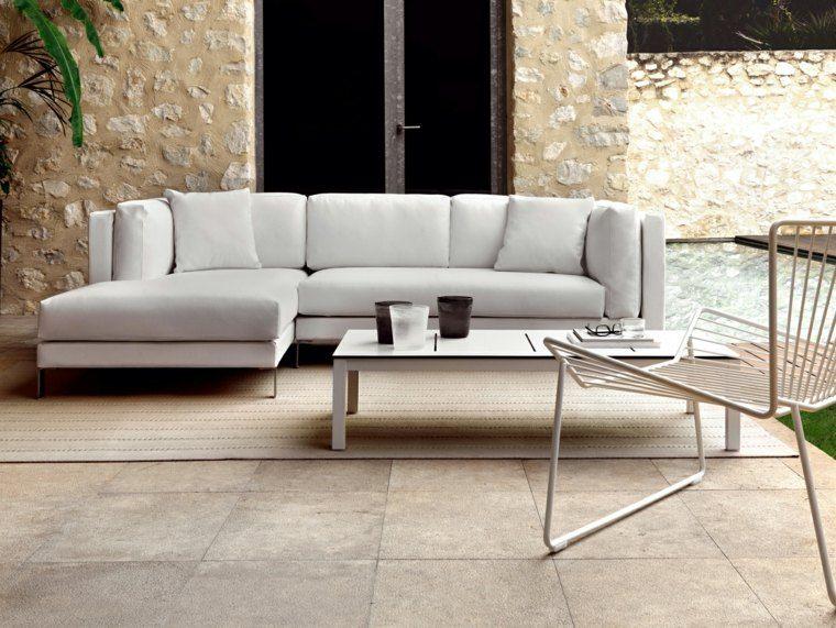 salones exterior planta silla moderno