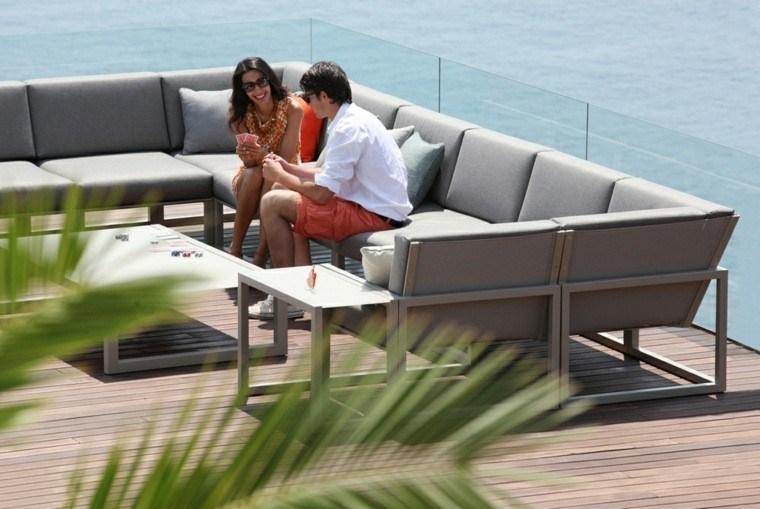 salones jardin terraza patio moderno