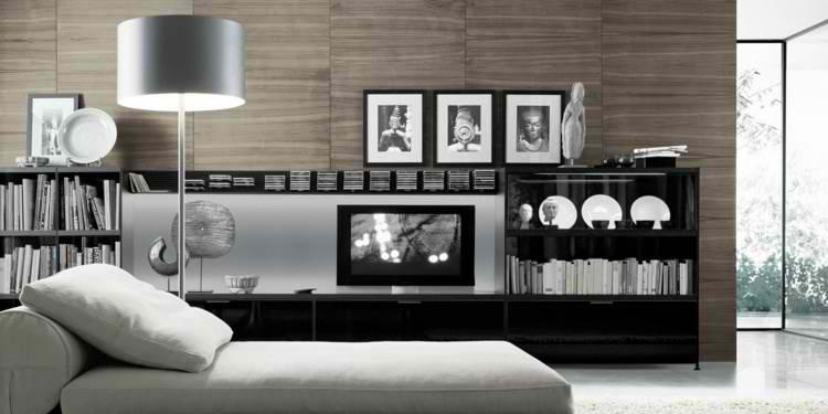 salones modernos minimalista estilo cuadros