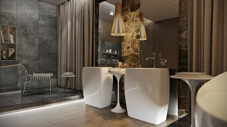 silla moderna lavabos diesño minimalista