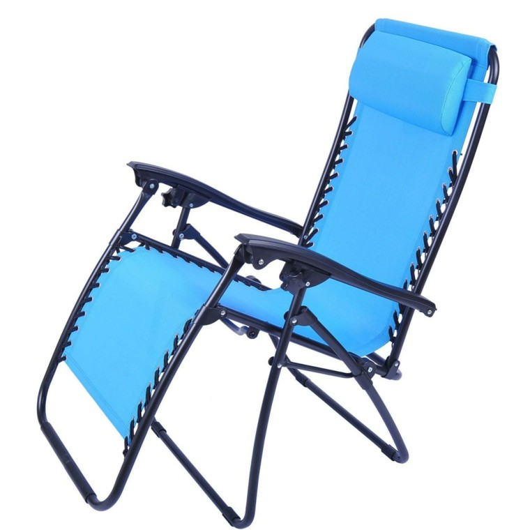 sillas de playa acolchonada aluminio cuerdas plegable