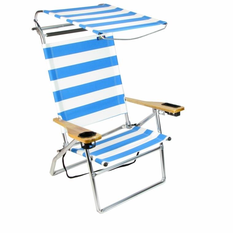 Sillas de playa 50 ideas pr cticas para disfrutar y for Hamaca plegable playa