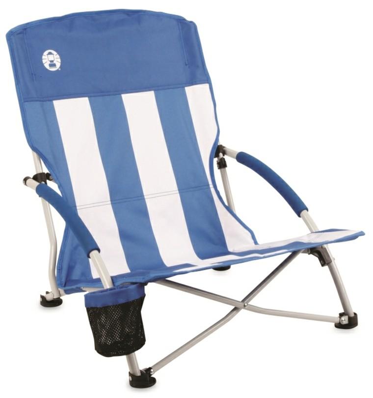 sillas de playa ligera baja silla aluminio