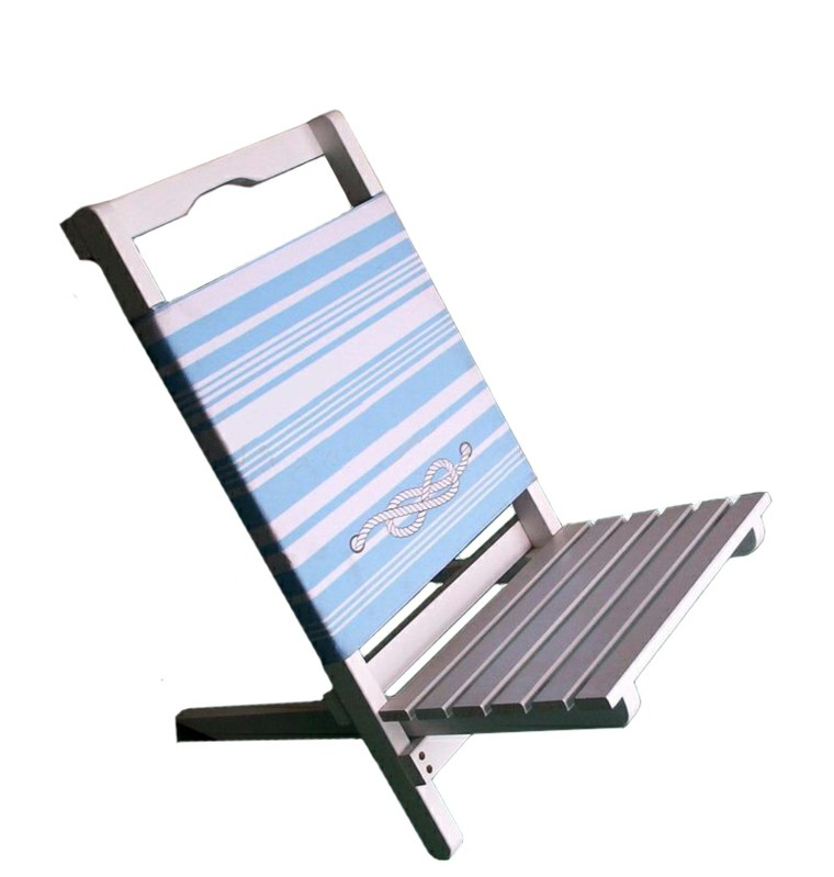 sillas de playa madera textileno portatil tradicional