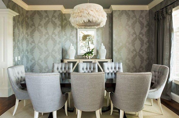 sillas diseño lampara cubierta textura