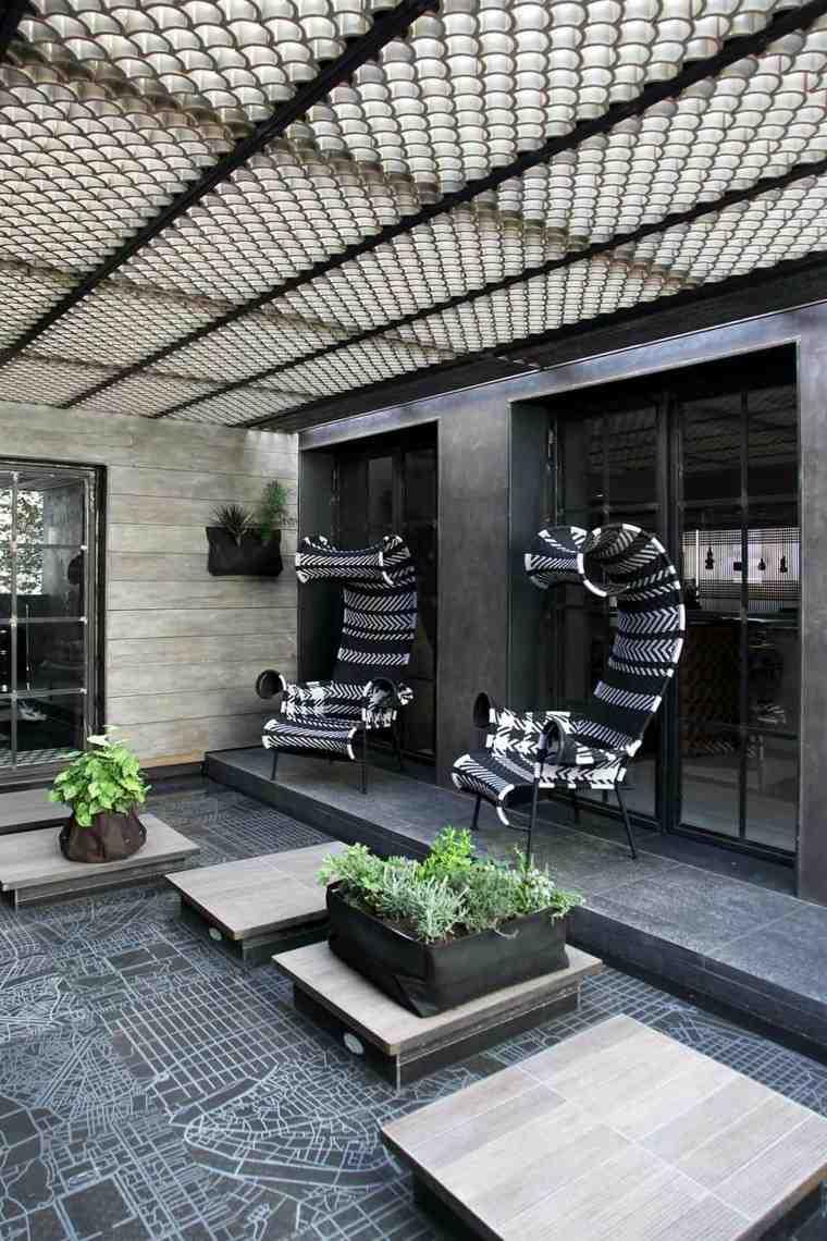 sillas originales diseño espacios aire libre ideas