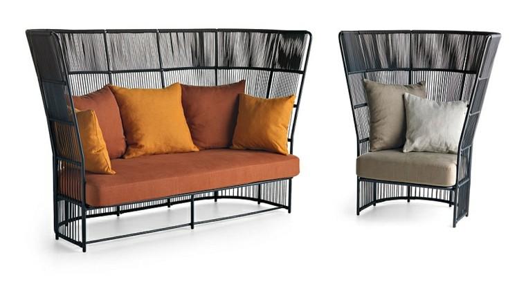 sillas sofa coleccion diseño ideas moderno negro