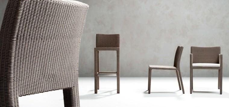 sillas terra estilo moderno muebles