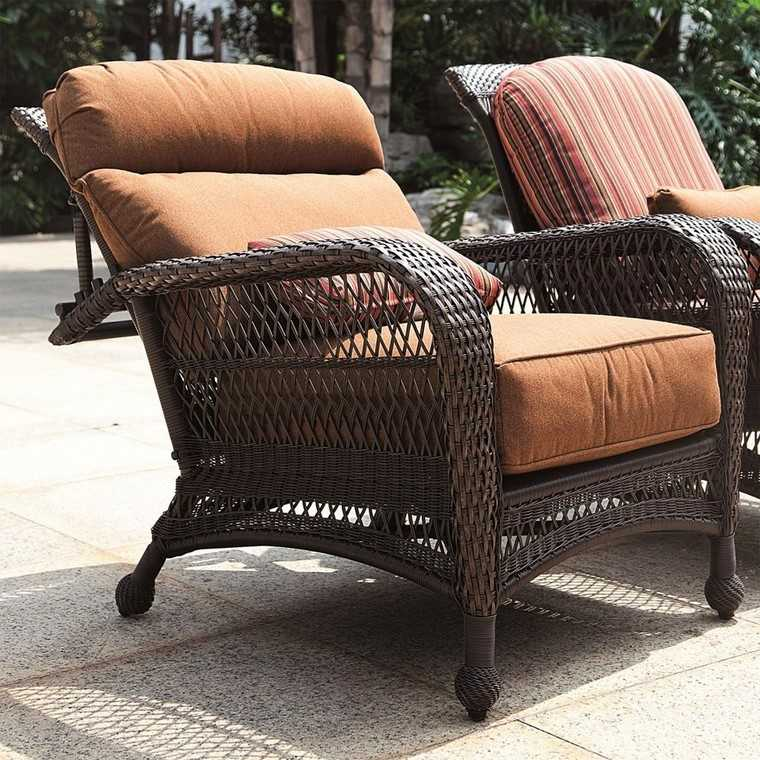 Sill n relax para los jardines con dise o original for Almohadones para sillones jardin