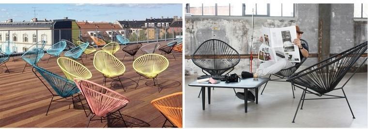 sillon relax colores vibrantes negro ideas elegante
