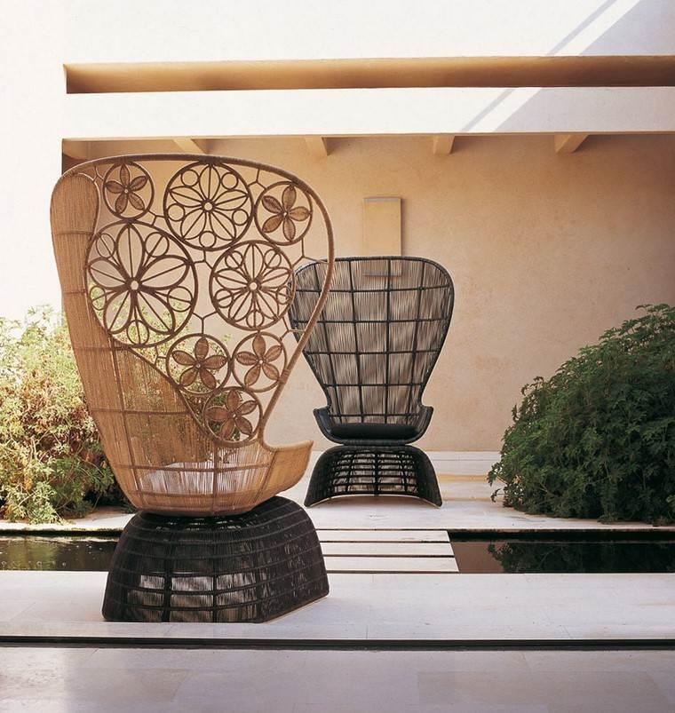sillon relax diseno moderno jardin patio original