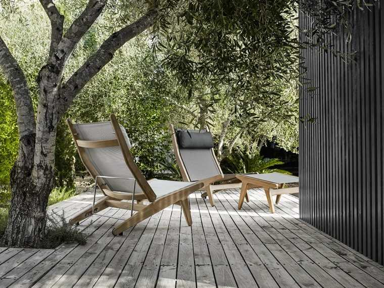 sillón relax ideas moderno comodo estilo gris jardin
