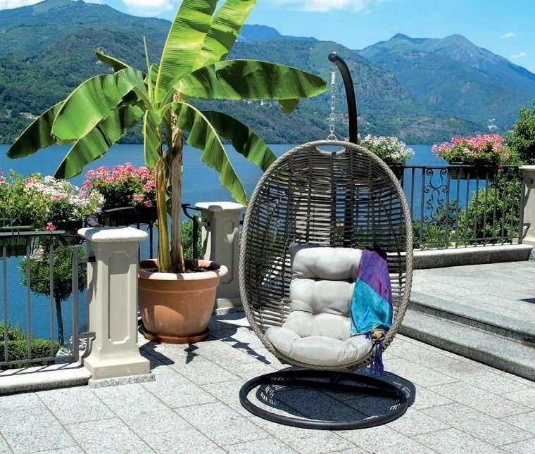 Sill n relax para los jardines con dise o original for Sillones rattan sintetico para jardin