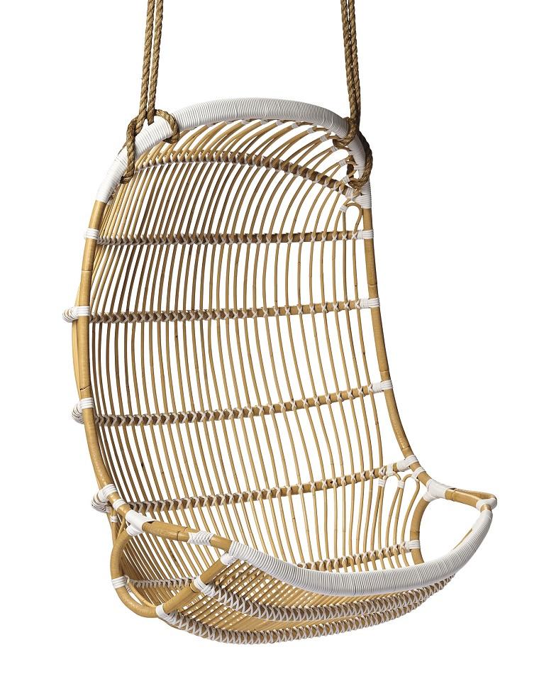 sillones colgantes de jardín ideas bambu bonito moderno