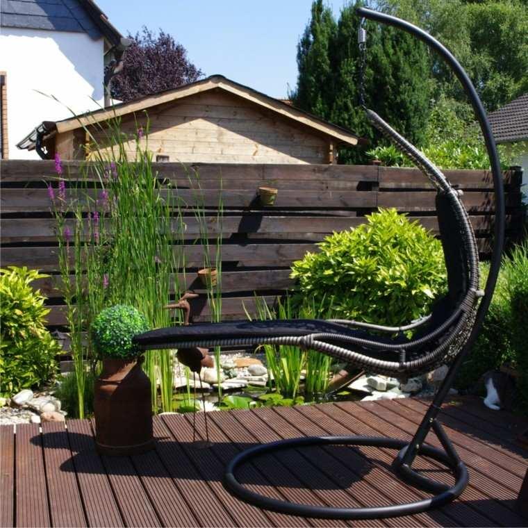 Sillones colgantes de jard n terraza o patio for Sillones jardin