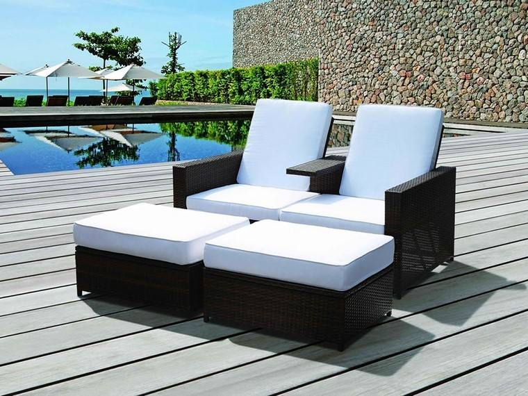 Sill n relax para los jardines con dise o original for Sillones terraza jardin