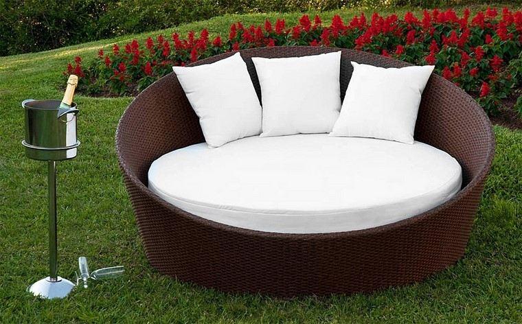 Sill n relax para los jardines con dise o original - Sillones de descanso ...