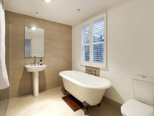 simple led bañera espejo blanco ventana