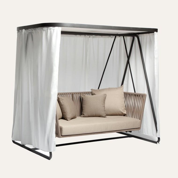sofa bitta cojines barra diseño cortina