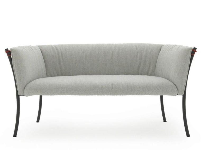 sofa blanco clasico jardin suave
