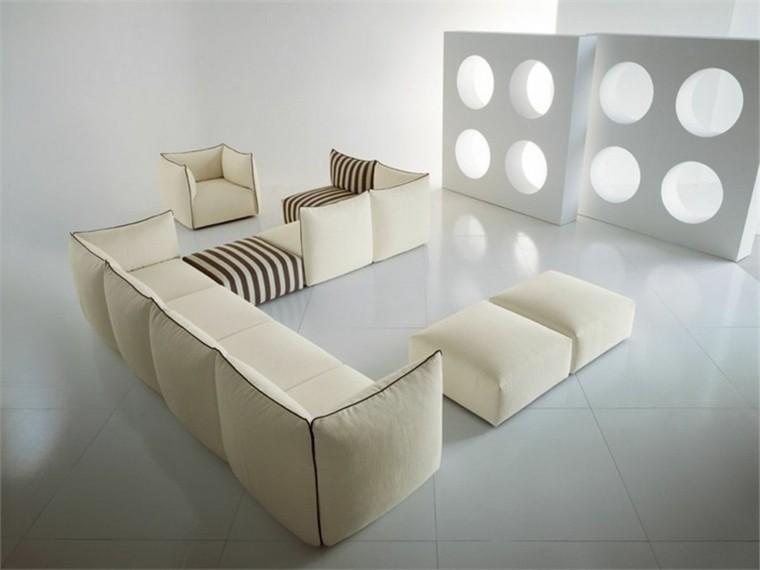 Sofas modernos dise os incre bles para el hogar - Tiempos modernos muebles ...